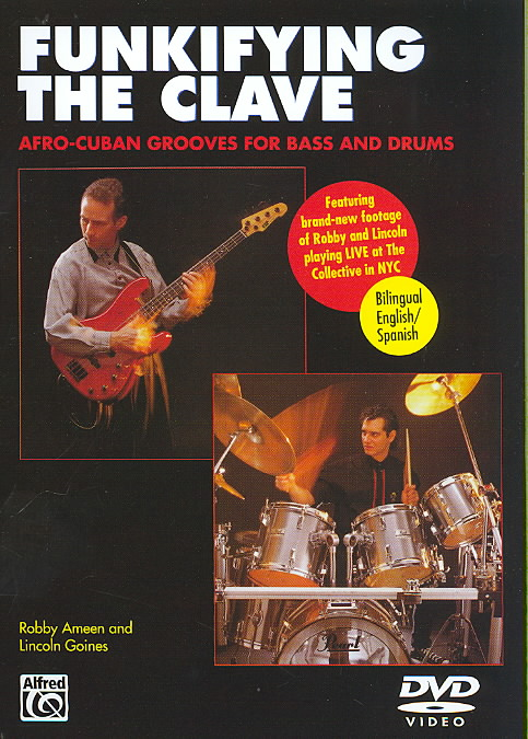 FUNKIFYING THE CLAVE:AFRO CUBAN GROOV (DVD)
